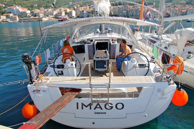 Climb aboard this Bénéteau Oceanis 45 for an unforgettable experience