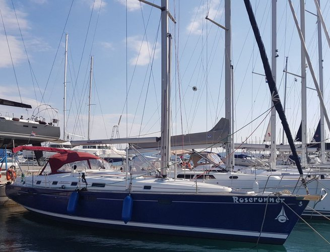 Beautiful Bénéteau Oceanis Clipper 461 ideal for sailing and fun in the sun!