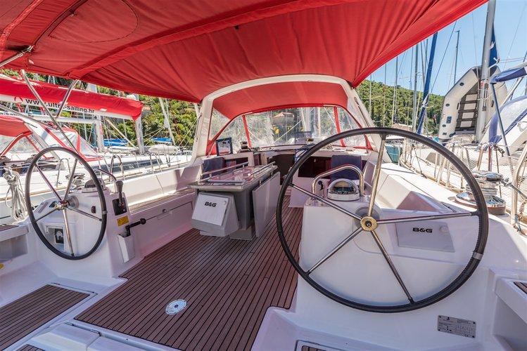 Boat for rent Bénéteau 47.0 feet in Komolac, ACI Marina Dubrovnik, Croatia