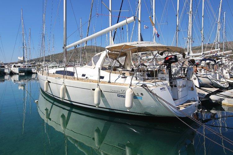 Experience Split region, HR on board this amazing Bénéteau Oceanis 50 Family