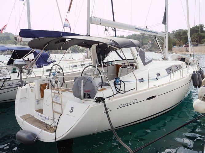 Bénéteau's 50.0 feet in Split region