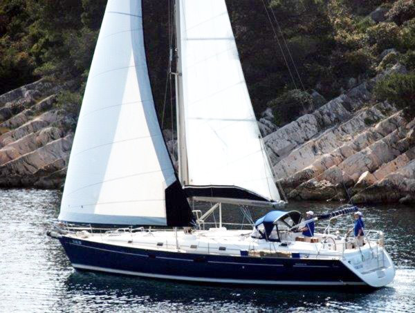 Discover Zadar region surroundings on this Beneteau 50 Bénéteau boat