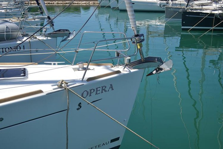 Bénéteau's 50.0 feet in Zadar region