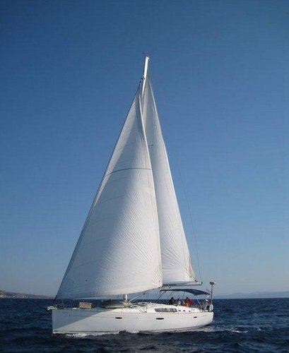 Hop aboard this amazing sailboat rental in Aegean!