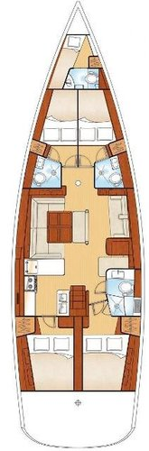 Boat for rent Bénéteau 54.0 feet in Marina Alimos (Kalamaki), Greece