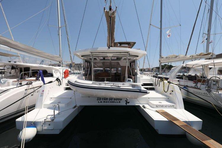 Boat for rent Catana 39.0 feet in Marina Tankerkomerc, Zadar, Croatia