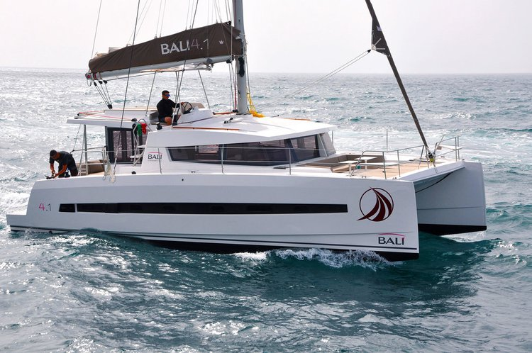 Enjoy luxury and comfort on this Catana Bali 4.1 in Split region