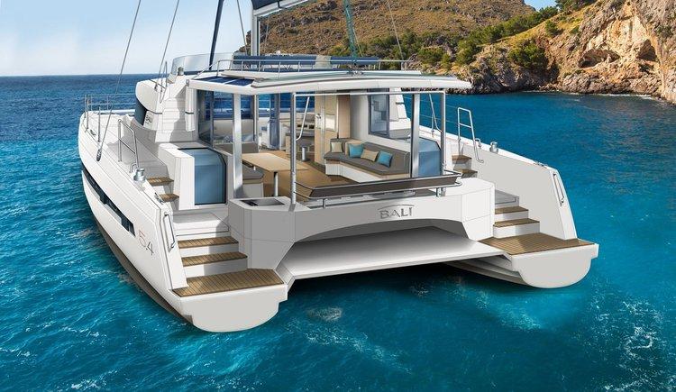 Beautiful Catana Bali 5.4 ideal for sailing and fun in the sun!