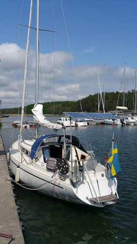 Enjoy luxury and comfort on this Stockholm County sailboat charter
