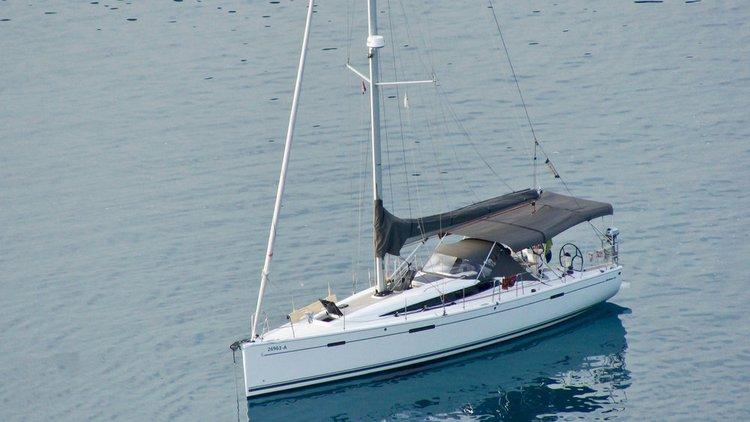 Dehler's 42.0 feet in Istra
