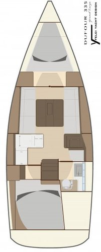 Dufour Yachts's 33.0 feet in Aegean
