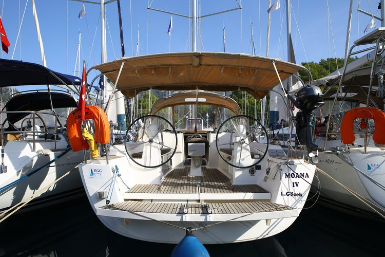 Experience Aegean on board this elegant sailboat