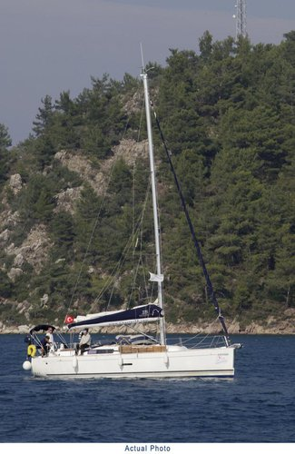 Discover Aegean surroundings on this Dufour 335 GL Dufour Yachts boat