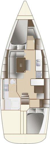 Discover Šibenik region surroundings on this Dufour 380 GL Dufour Yachts boat