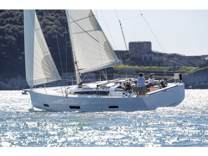 Take this Dufour Yachts Dufour 430 GL for a spin!