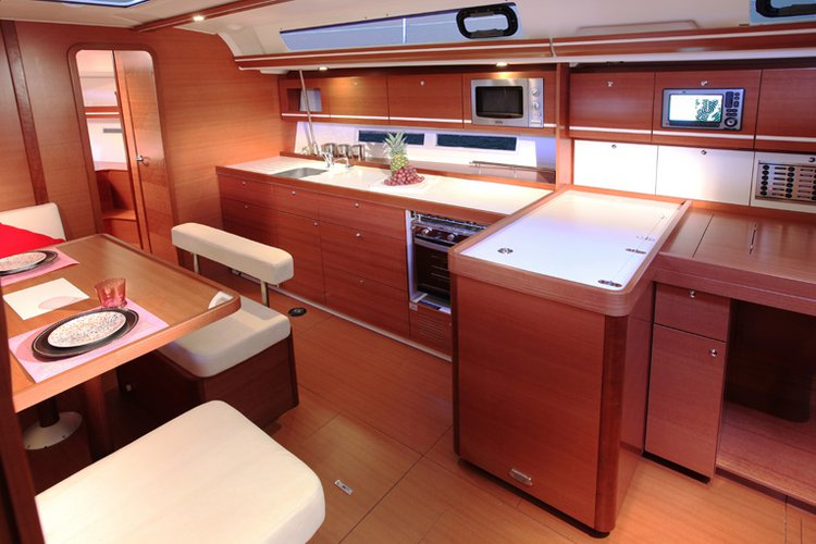Discover Azores surroundings on this Dufour 450 GL Dufour Yachts boat