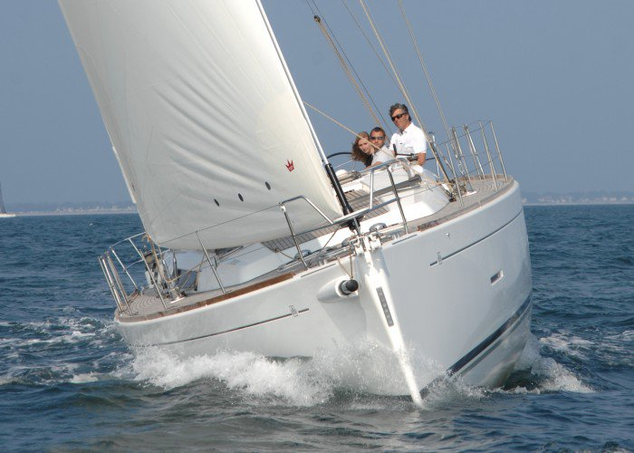 All you need to do is relax and have fun aboard the Dufour Yachts Dufour 450 GL