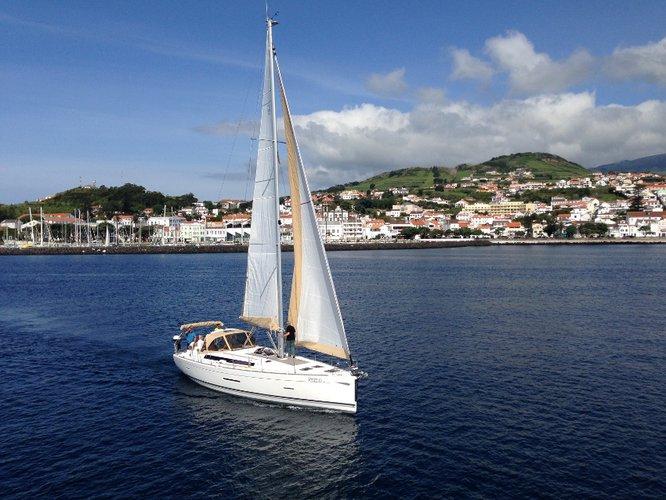 Boat rental in Azores,