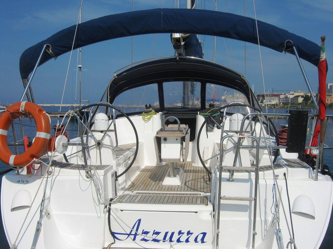 Get on the water and enjoy Sicily in style on our Dufour Yachts Dufour 455 GL
