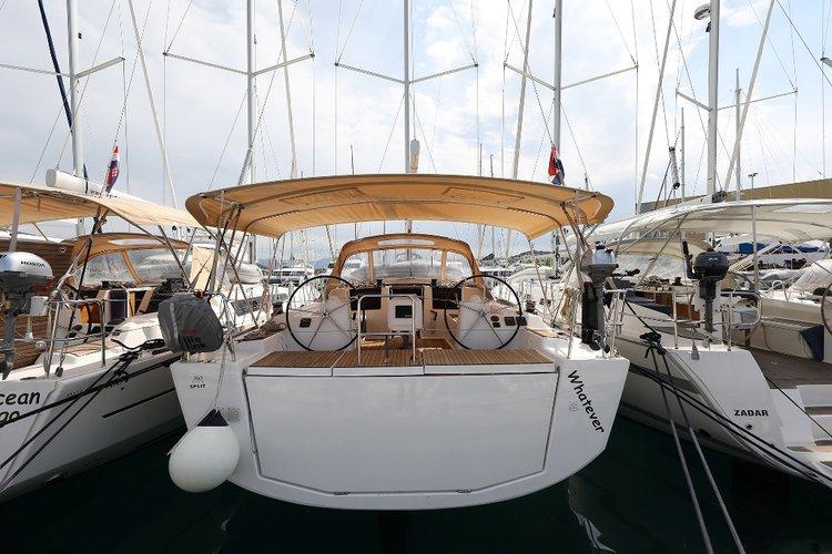 Boat for rent Dufour Yachts 46.0 feet in Marina Trogir - SCT, Croatia