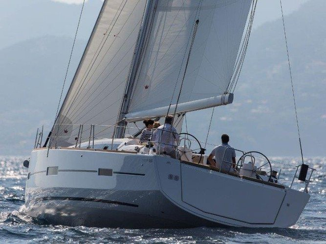 Enjoy luxury and comfort on this Dufour Yachts Dufour 460 in Trogir