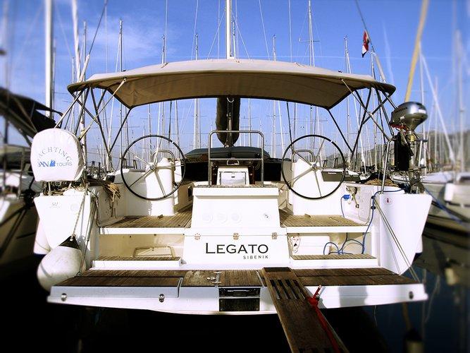 Enjoy luxury and comfort on this Dufour Yachts Dufour 512 GL in Šibenik region