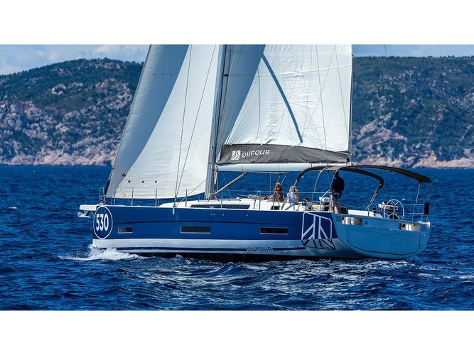 Charter this amazing Dufour Yachts Dufour 530 in Furnari, IT
