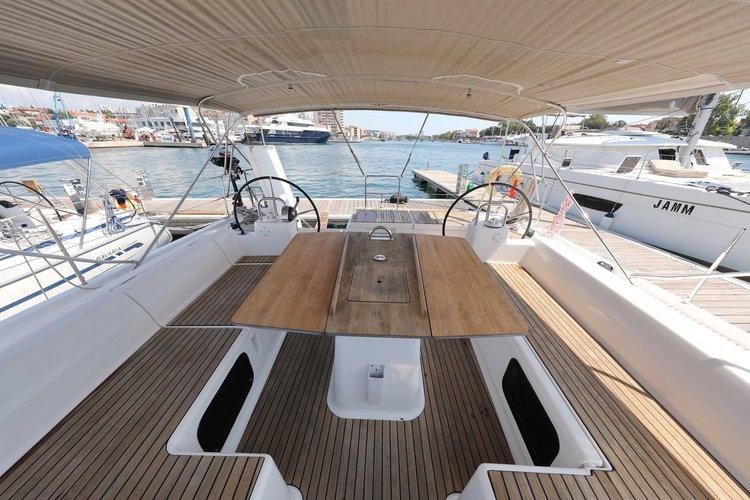 Boat for rent Dufour Yachts 56.0 feet in Zadar, Croatia