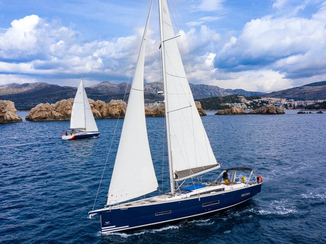 Unique experience on this beautiful Dufour Yachts Dufour 56 Exclusive