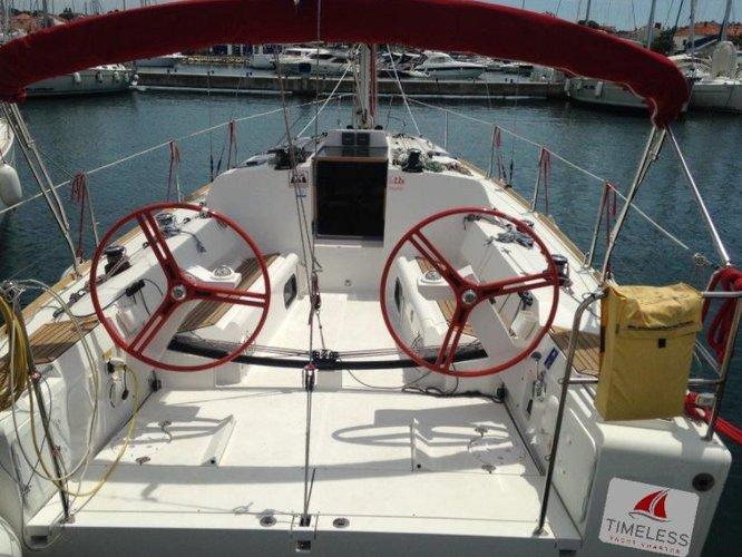 Climb aboard this Elan Elan 350 for an unforgettable experience