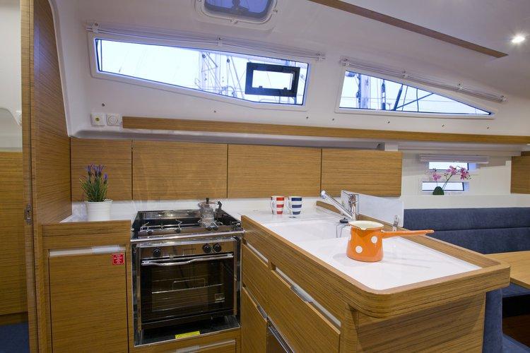 Discover Kvarner surroundings on this Elan Impression 35 Elan Marine boat