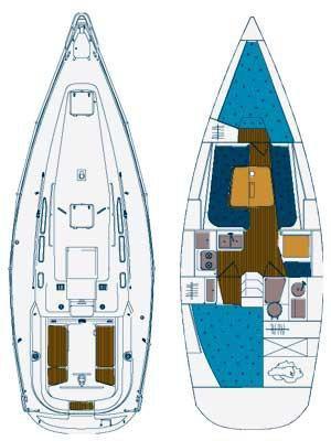 Boat for rent Elan Marine 34.0 feet in Marina Tankerkomerc, Zadar, Croatia