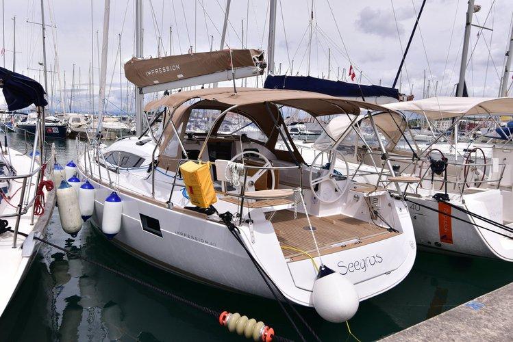 Explore Primorska  on this beautiful sailboat for rent