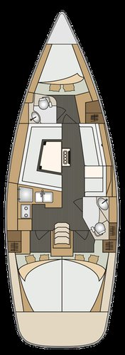 Discover Primorska  surroundings on this Elan Impression 40 Elan Marine boat