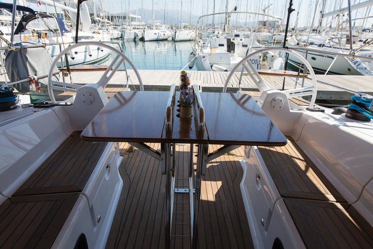 Discover Split region surroundings on this Elan Impression 40 Elan Marine boat