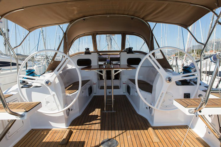 All you need to do is relax and have fun aboard the Elan Marine Elan Impression 40