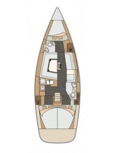 Discover Zadar region surroundings on this Elan Impression 40 Elan Marine boat