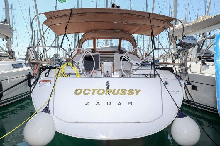 Charter this amazing Elan Marine Elan Impression 45 in Zadar region, HR