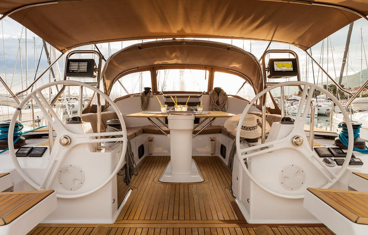 Beautiful Elan Marine Elan Impression 50 ideal for sailing and fun in the sun!