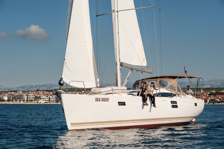 Sail the beautiful waters of Zadar region on this cozy Elan Marine Elan Impression 50