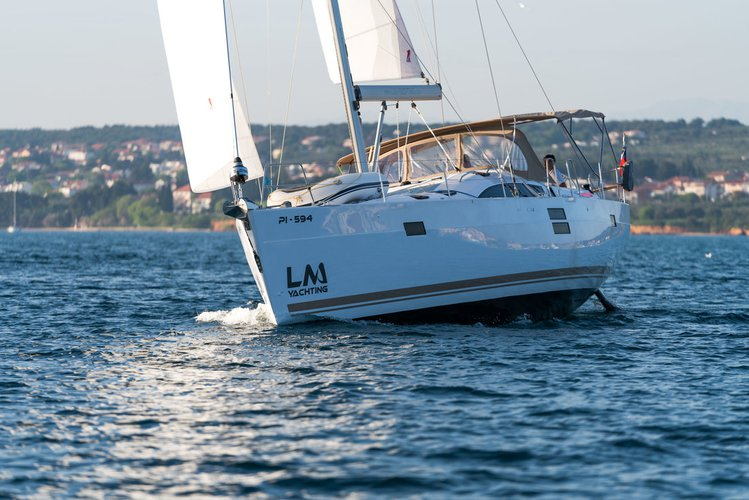 Discover Zadar region surroundings on this Elan Impression 50 Elan Marine boat