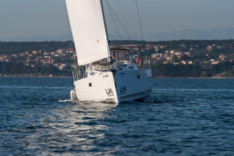 Boating is fun with a Elan Marine in Zadar region