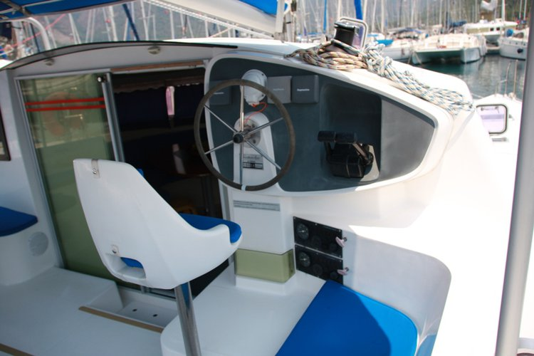 Boat for rent Fountaine Pajot 38.0 feet in Marmaris Yacht Marina, Turkey