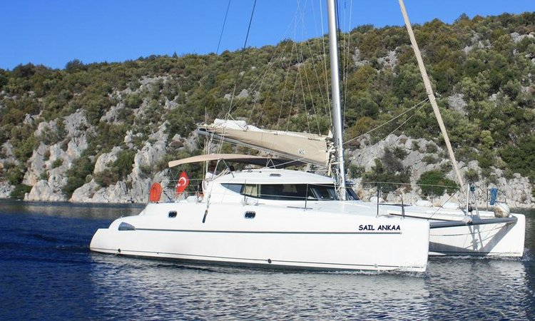 Get on the water and enjoy Aegean in style on our Fountaine Pajot Athena 38