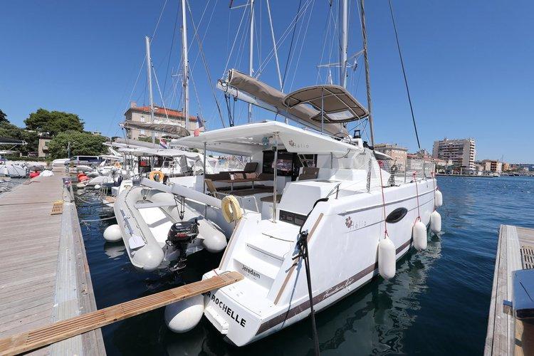 Experience Zadar region, HR on board this amazing Fountaine Pajot Helia 44