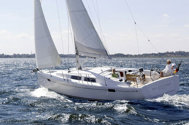 Climb aboard this Hanse Yachts Hanse 385 for an unforgettable experience