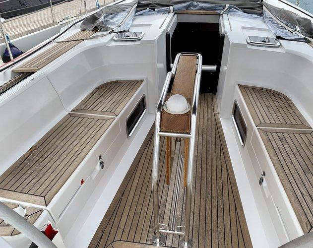 Boat for rent Hanse Yachts 44.0 feet in Marina Kastela, Kastela, Croatia