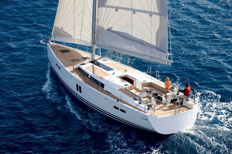 Sail Split region, HR waters on a beautiful Hanse Yachts Hanse 445