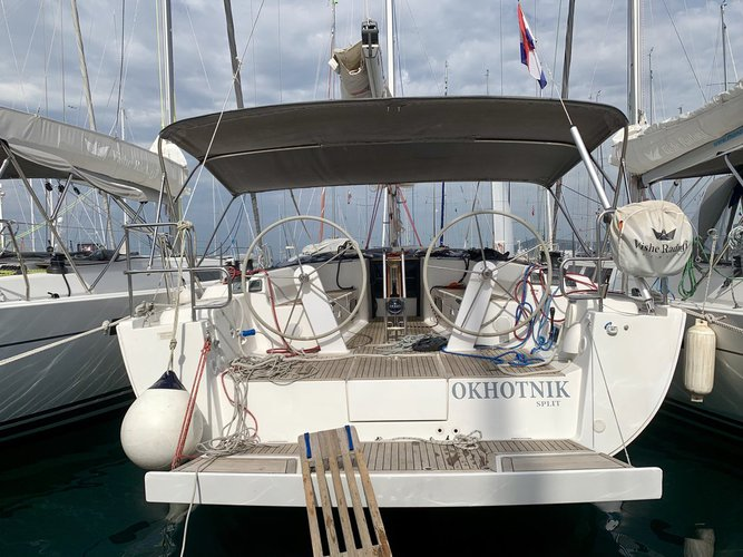 Hop aboard this amazing sailboat rental in Split region!