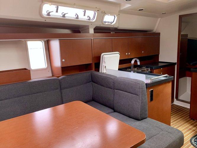 Discover Split region surroundings on this Hanse 445 Hanse Yachts boat